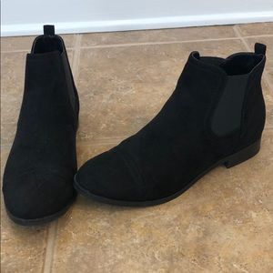 Unisa Black Ankle Boots Booties